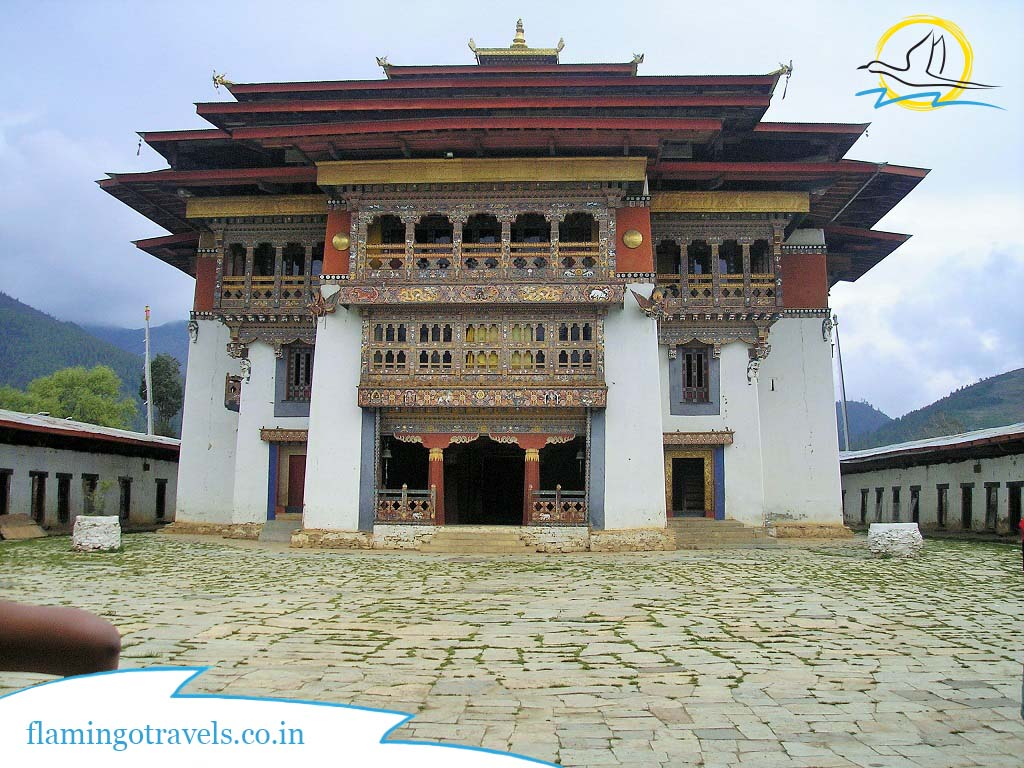 Gangtey Monestary, Bhutan Tour Packages From India