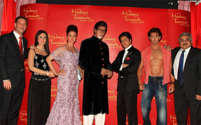Five-Bollywood-Superstars-madametussad-Bangkok